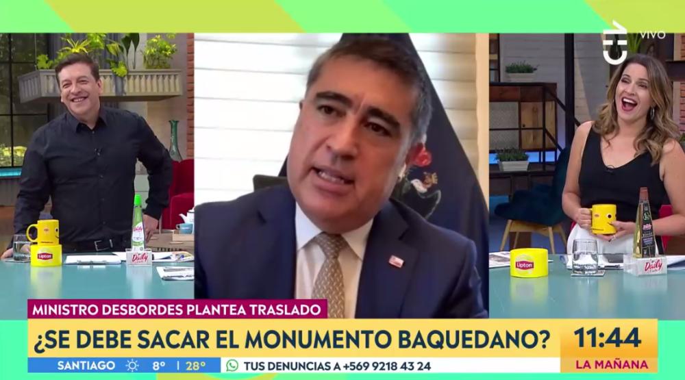 """Desbordes bromea con candidatura presidencial de Francisco Vidal: """"Por eso amanece en los matinales"""""""