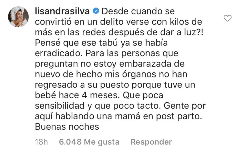 Lisandra Silva | Instagram