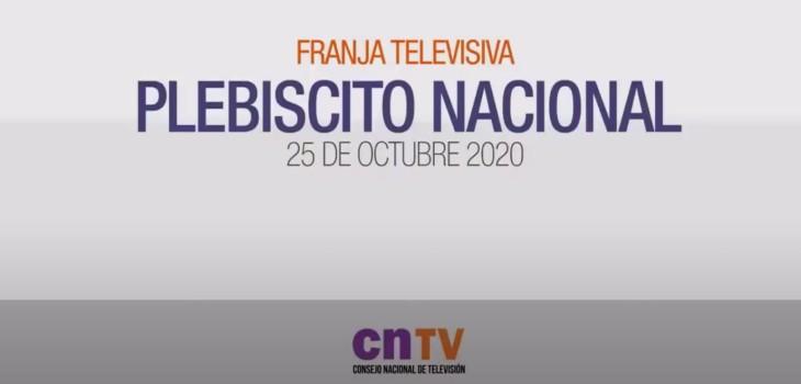 Datos de CNTV: franja del plebiscito ha sido más vista que la presidencial y parlamentaria de 2017