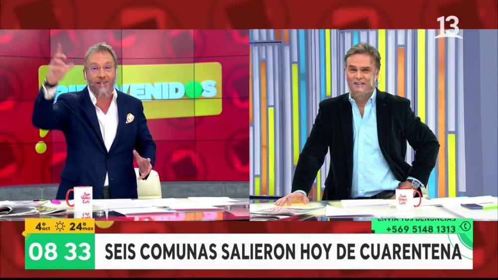"""Tras """"martes negro"""": afirman que parte del equipo de Bienvenidos cree que Martín Cárcamo debe volver"""