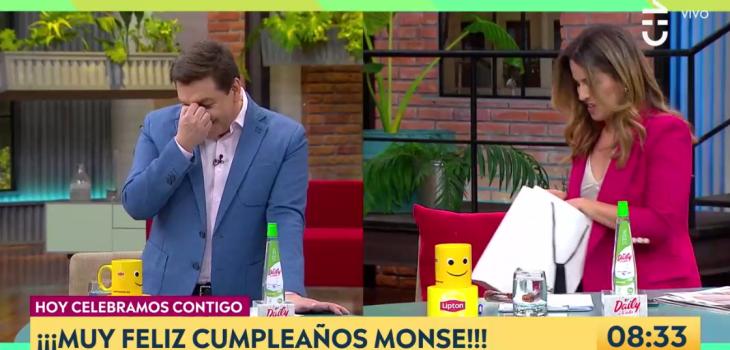 Monserrat Álvarez mostró regalo que le dio Julio César Rodríguez por su cumpleaños: