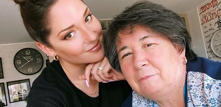 Kel Calderón envía mensaje de apoyo a Nancy Huenupe