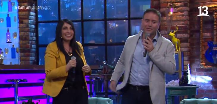 Christian Pino sorprendió a Karla Rubilar en 'Sigamos de largo'