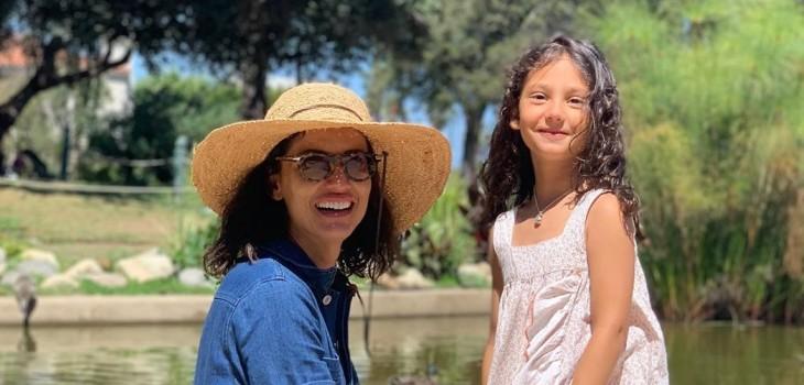 Leonor Varela y gesto de su hija con Matteo