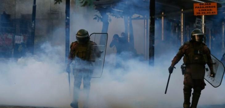 Barricadas, enfrentamientos y detenidos marcan nueva jornada de manifestaciones por 18-O en el país