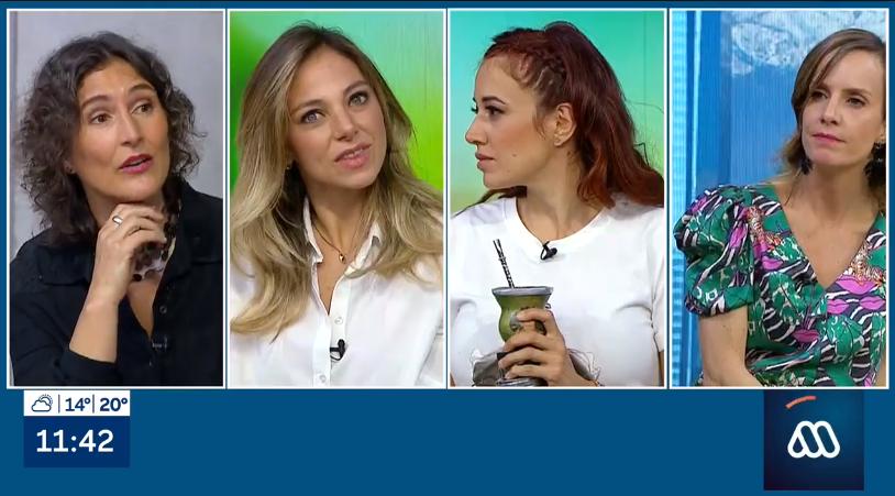 la sorpresiva reacción de Mariana Derderián tras breve aparición en el matinal