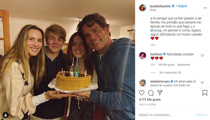 Hija de Angélica Castro y Cristián de la Fuente cumplió 16 años: Luis Fonsi le dedicó tierno saludo