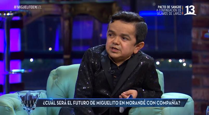 Miguelito se sinceró ante el incierto panorama de 'Morandé con Compañía'