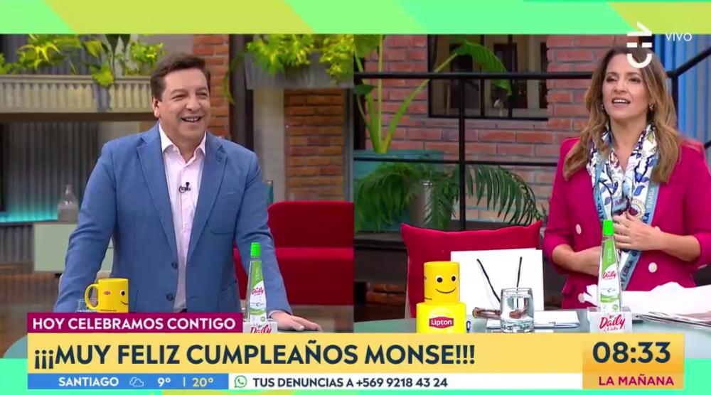 """Monserrat Álvarez mostró regalo que le dio Julio César Rodríguez por su cumpleaños: """"Es fino, fino"""""""