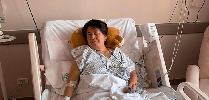 Nancy Huenupe fue llevada a urgencias por Kel Calderón