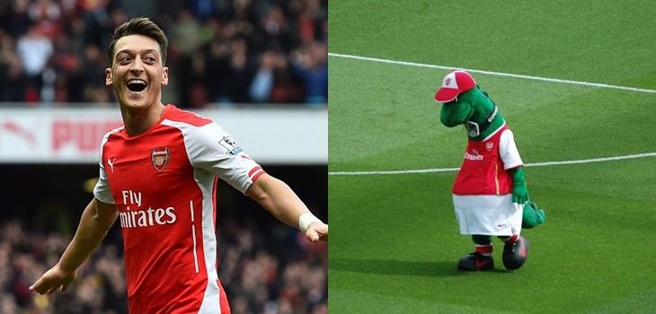 Despiden a mascota histórica del Arsenal
