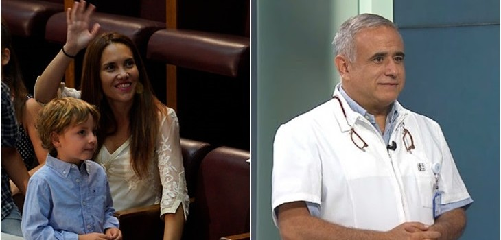 Magdalena Piñera (i) Agencia UNO | Sebastián Ugarte (d) TVN