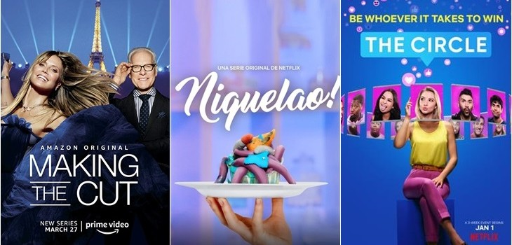 Making The Cut (1) Amazon | Niquelao! y The Circle de Netflix