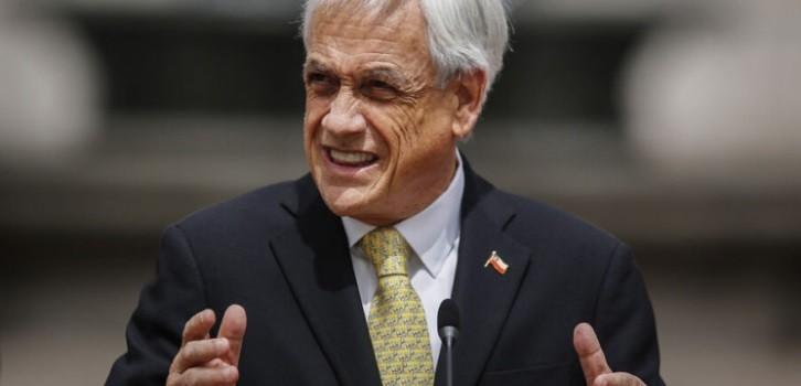 Piñera llama a votar en plebiscito