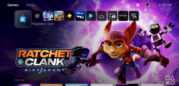 Sony libera primer vistazo de la experiencia de usuario (UX) de la nueva PlayStation 5