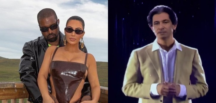 Kim Kardashian mostró el futurístico (y perturbador) regalo que le dio Kanye West por su cumpleaños