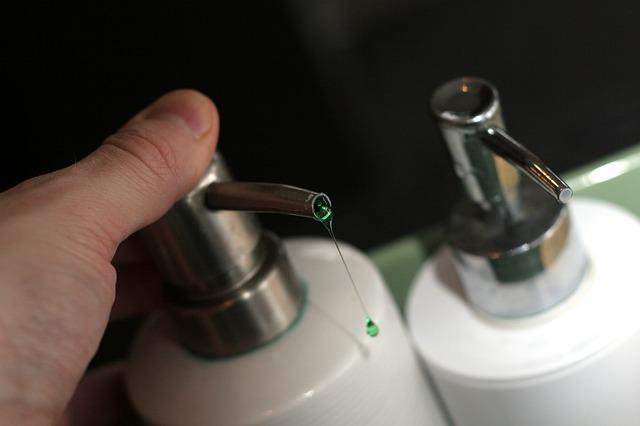 Diferencias de jabón líquido y jabón en barra