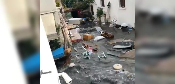 tsunami y terremoto turquia