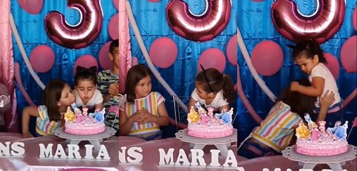 La verdad tras el viral del momento que muestra una pelea entre dos niñas en un cumpleaños