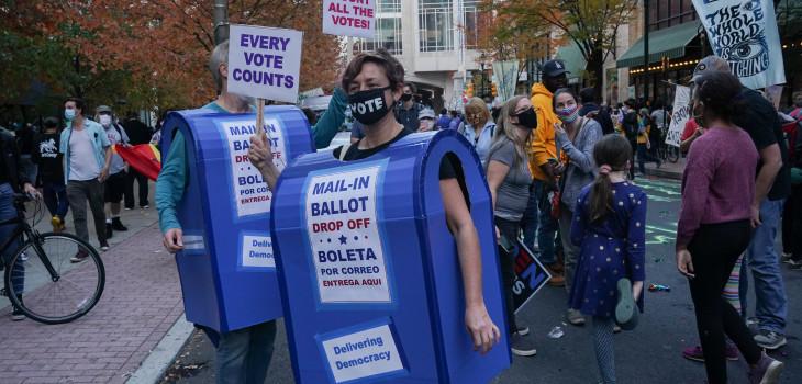 Conteo de votos en EEUU