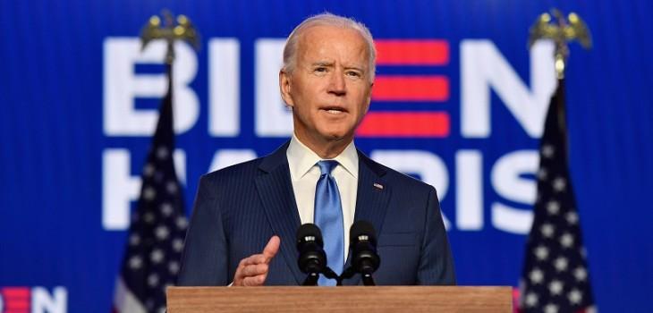 Biden, confiado de que ganará la Casa Blanca, apela a la unidad