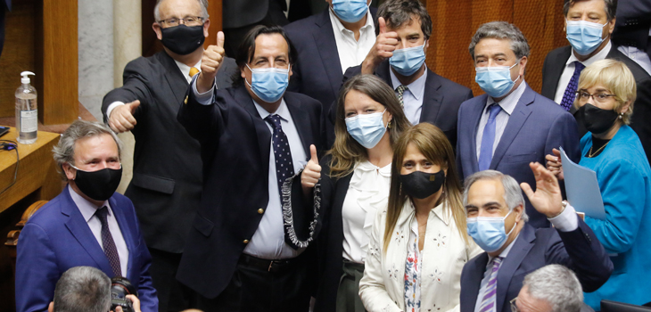 Senado rechaza acusación constitucional contra el exministro Víctor Pérez