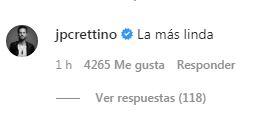 Jean-Philipe Cretton realizó romántico comentario a Pamela Díaz