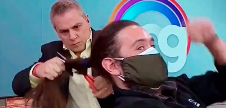 Abogado aseguró que camarógrafo no aceptó pago de $350 mil tras corte de pelo en vivo