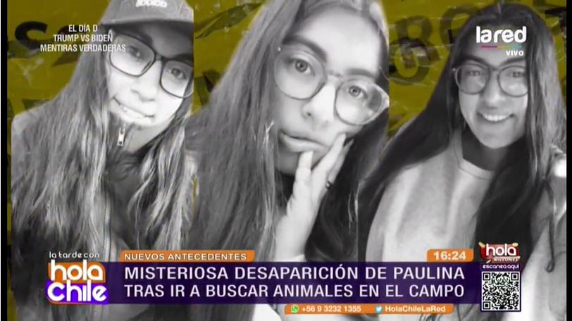 Paulina Soto Barría   Hola Chile  La Red