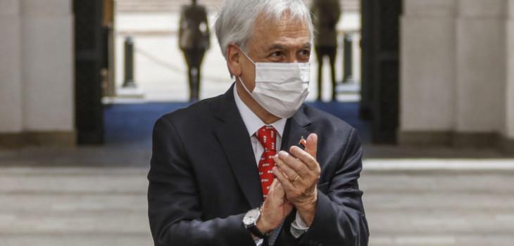 Piñera por proyecto que adelanta elecciones: