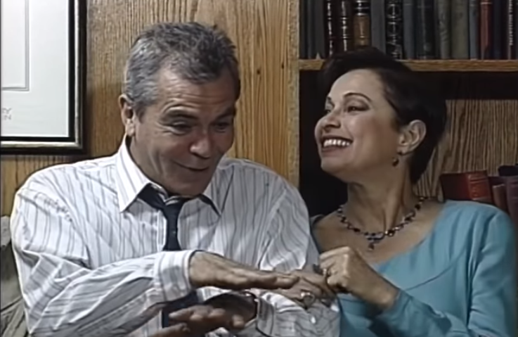 Eduardo Barril en teleserie Ámame