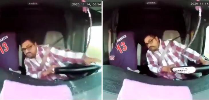 Delincuentes intentan asaltar a camionero