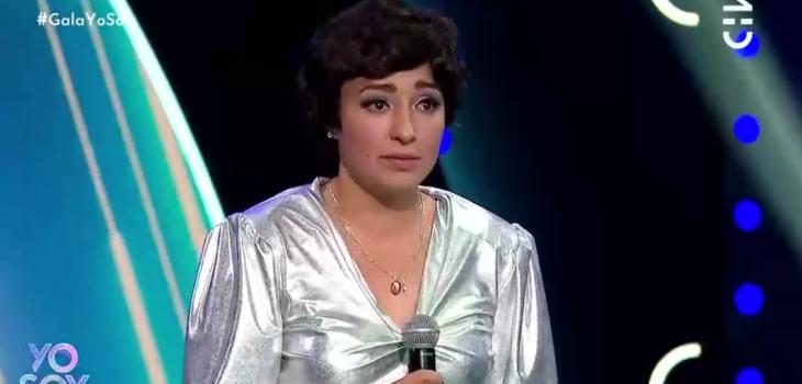 Imitadora de Cecilia se quebró tras cometer error en presentación: Myriam Hernández la consoló