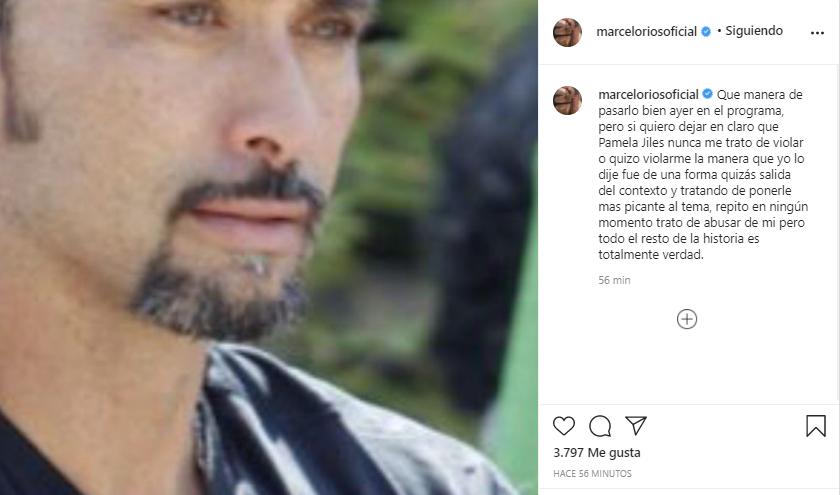 Marcelo Ríos aclaró acusación contra Pamela Jiles