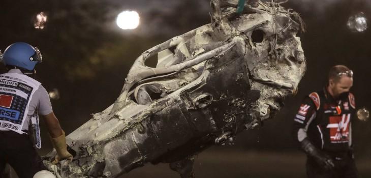 'Halo', el artefacto que se convirtió en un indispensable de la F1 y que le salvó la vida a Grosjean