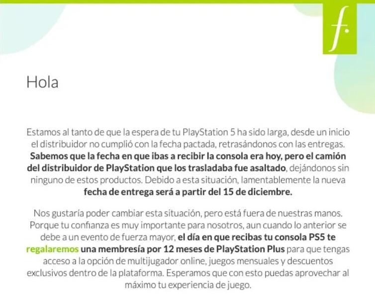 Asaltan camión de Falabella que trasladaba la nueva PlayStation 5