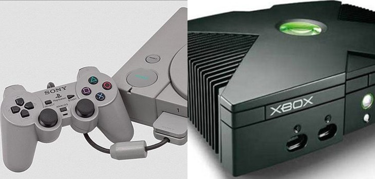 Así fue el lanzamiento de la primera consola Xbox y PlayStation