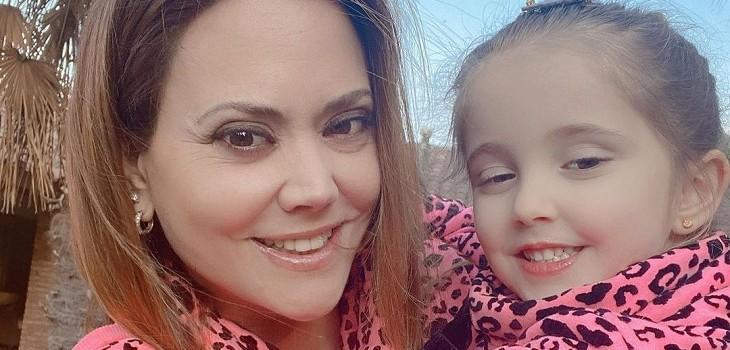 Daniella campos sobre su hija