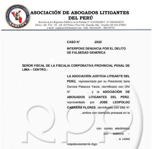 demanda abogados peruanos julio bascuñan