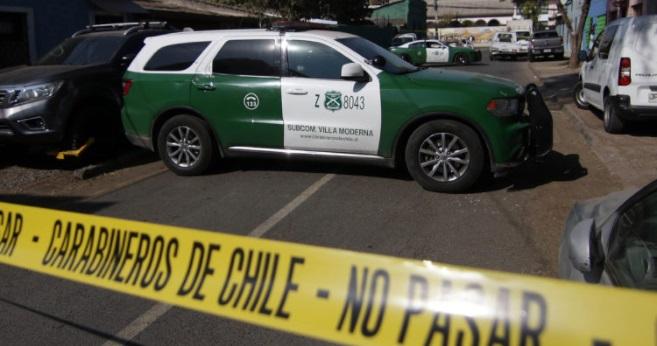 asesinatos en centro de Santiago