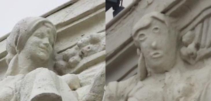 Restauración fallida en escultura de España la rompe en redes
