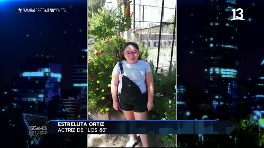 Estrella Ortiz interpretó a Anita en Los 80