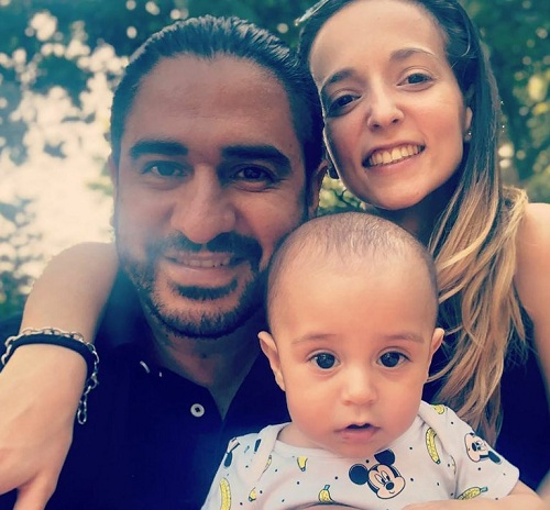 ariel puchetta y su familia