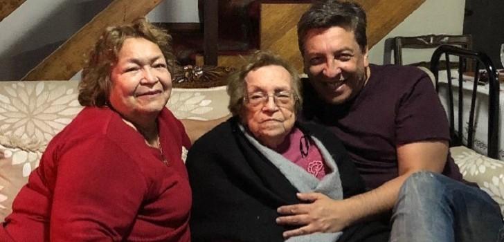 Julio César Rodríguez despedida a su abuelita