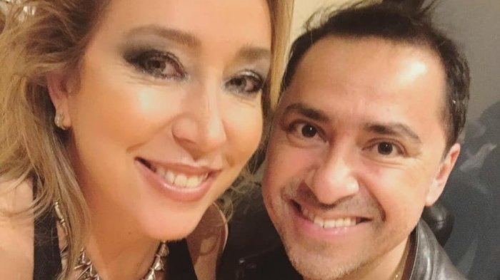 Chico Pérez y Jennifer Warner