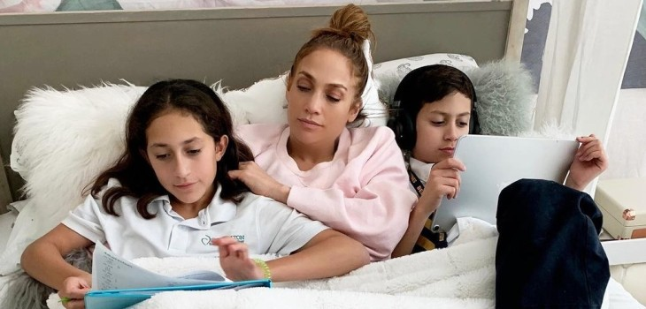 Jennifer Lopez relató conversación con sus hijos sobre qué aspectos de sus vidas no les gustaban