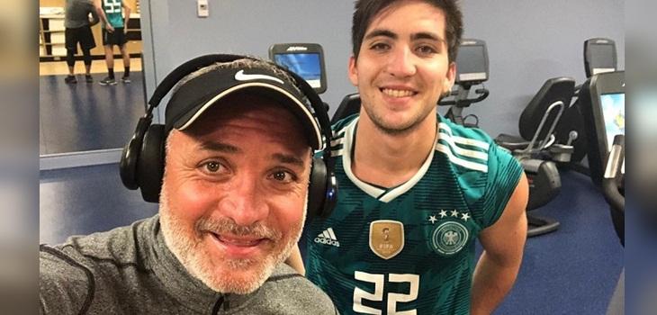 Luis jara protagonizó reencuentro con su hijo