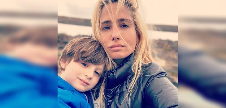 Mane Swett y el confinamiento con su hijo