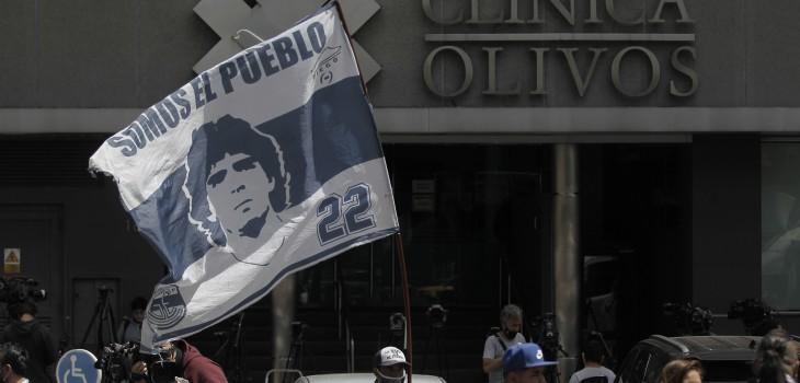Maradona sufrió abstinencia tras cirugía