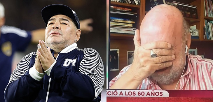 las sentidas reacciones ante la muerte de Diego Maradona
